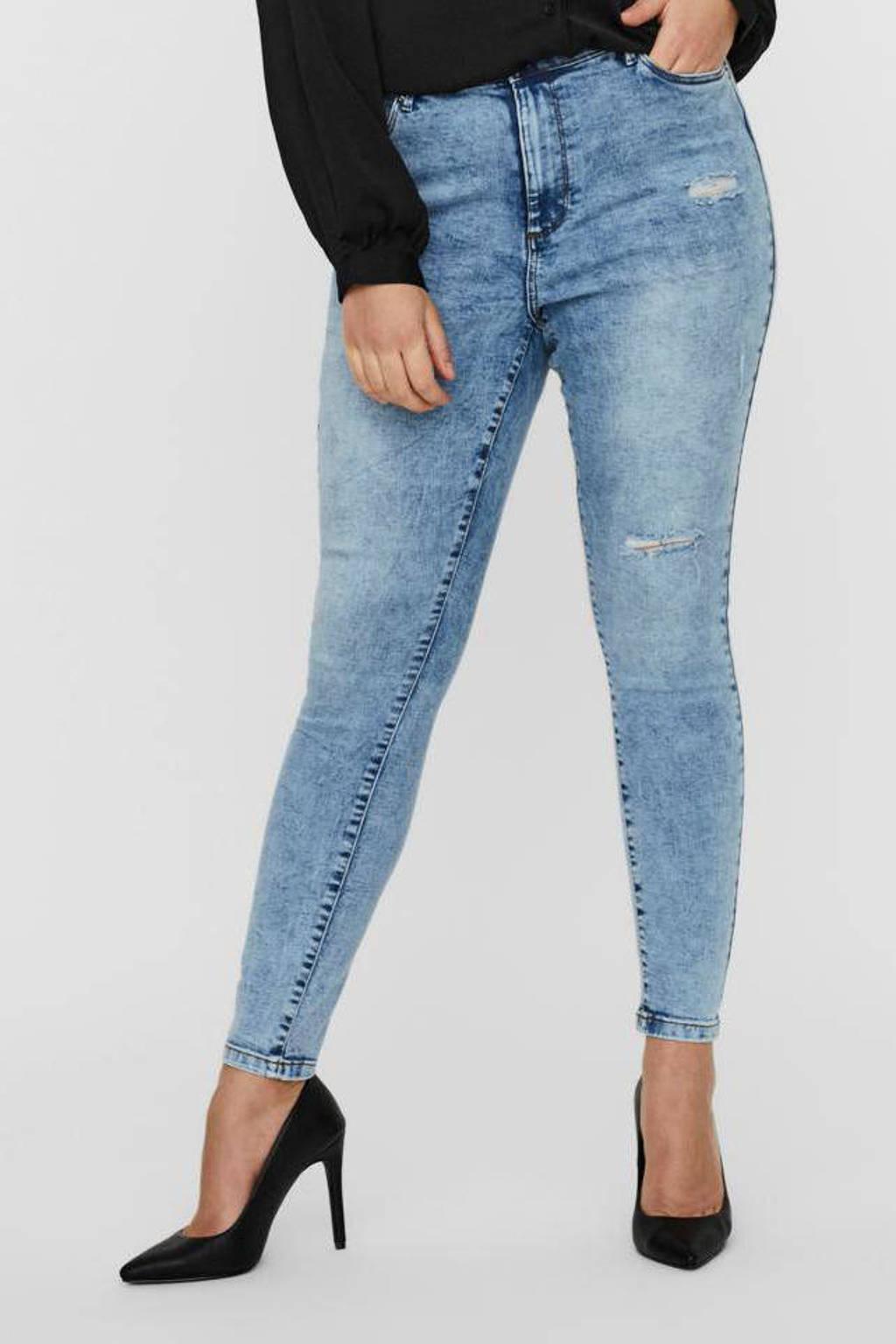 VERO MODA CURVE skinny jeans Sophia light denim bleached, Light denim bleached