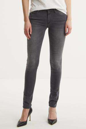 skinny jeans New Luz donkergrijs