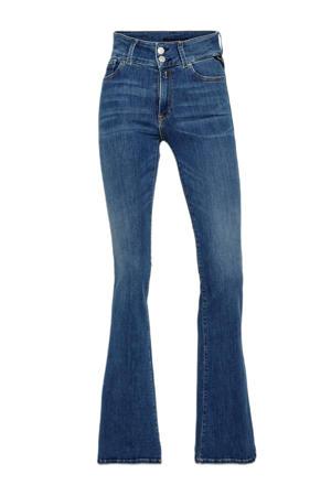 high waist flared jeans New Luz medium blue