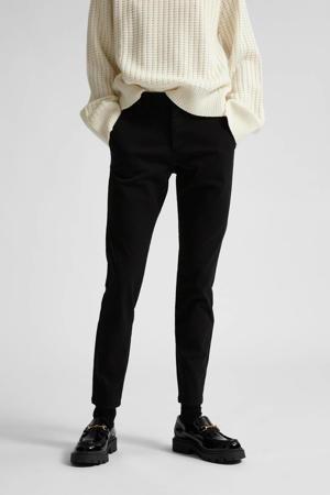 slim fit broek Miley zwart