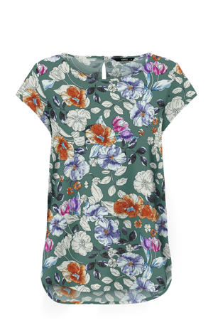 top ONLNOVA met all over print groen