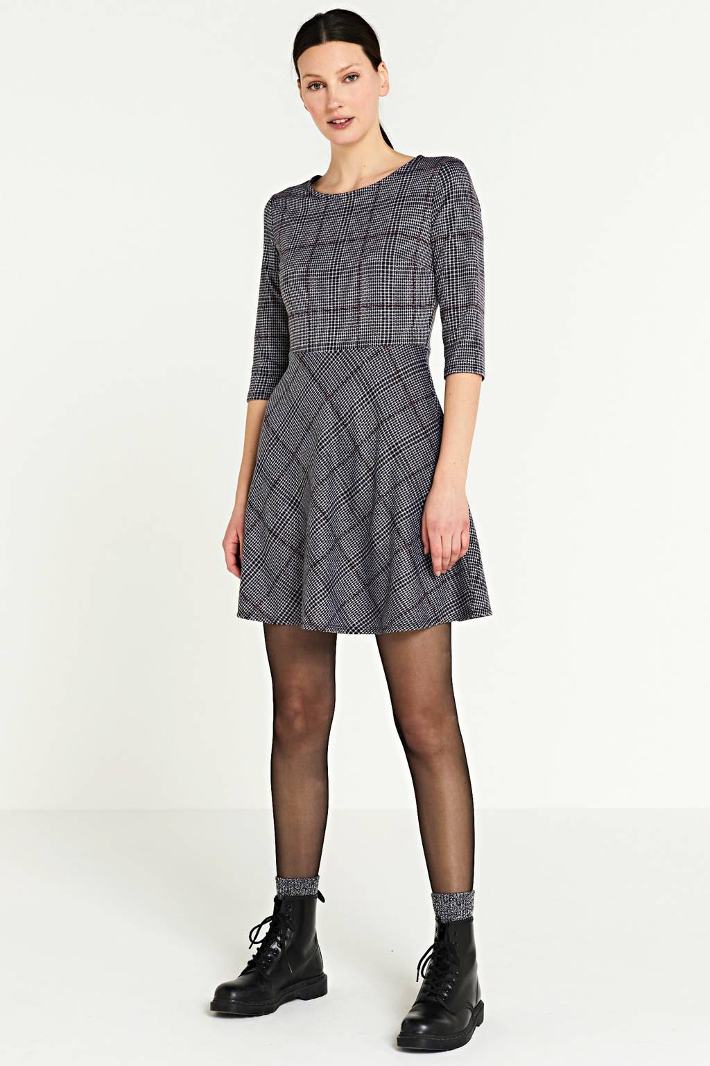 GAP A-lijn jurk lila/paars/zwart, Lila/paars/zwart