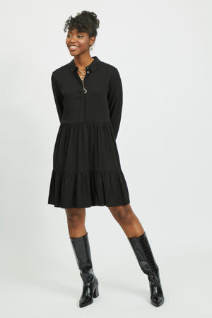 trapeze jurk VIMOROSE zwart