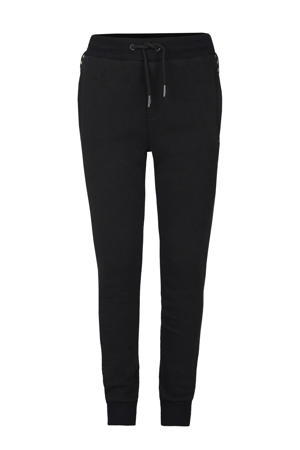 slim fit joggingbroek Brad zwart