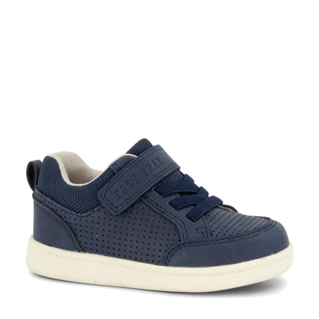 Bobbi-Shoes   sneakers donkerblauw, Blauw