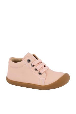 lage schoenen lichtroze