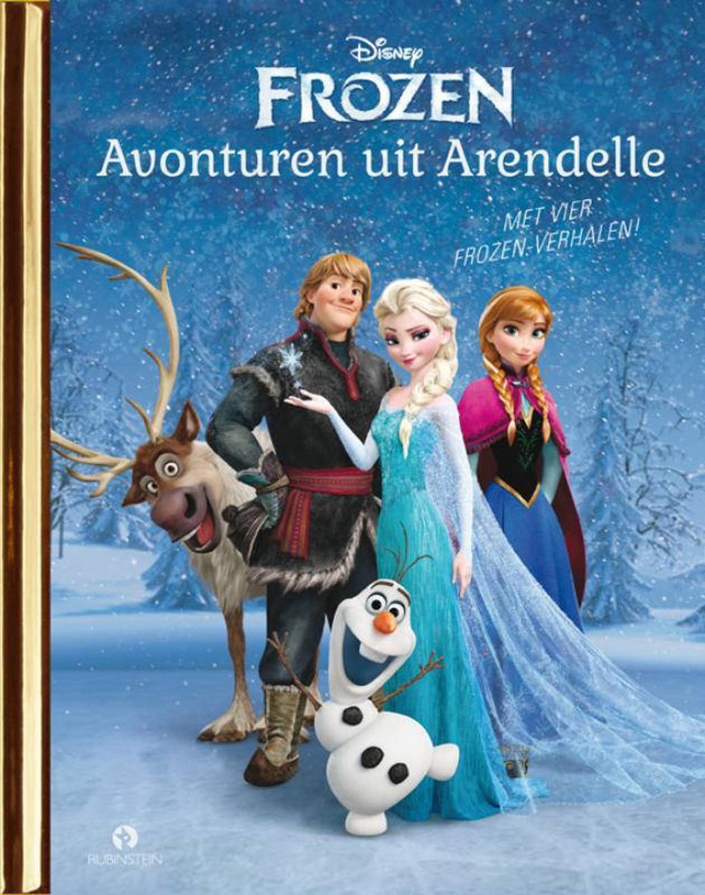 Gouden Boekjes: Frozen: Avonturen uit Arendelle - Disney