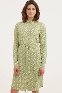 Circle of Trust gebloemde blousejurk Joanna lichtgroen, Lichtgroen