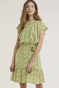 Circle of Trust gebloemde geweven blouse Roos lichtgroen, Lichtgroen
