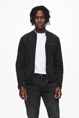 jas black denim