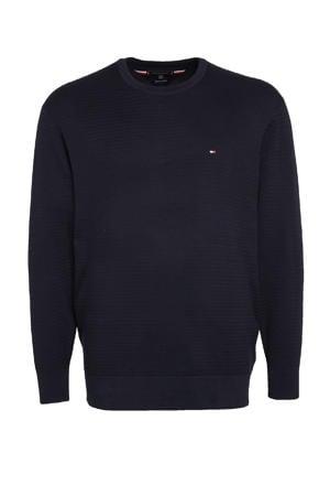 +size trui Plus Size van biologisch katoen donkerblauw