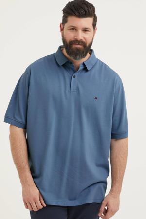 regular fit polo met logo Plus Size blauw