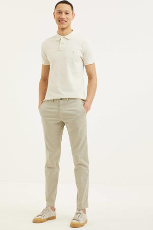 regular fit chino zand