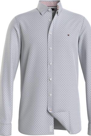 regular fit overhemd van biologisch katoen Plus Size grijs