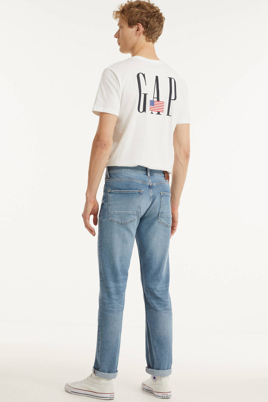 Tommy Hilfiger straight fit jeans Denton 1ab beacon indigo, 1AB Beacon Indigo