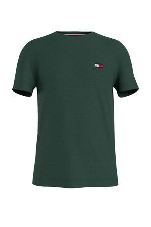 T-shirt van biologisch katoen donkergroen