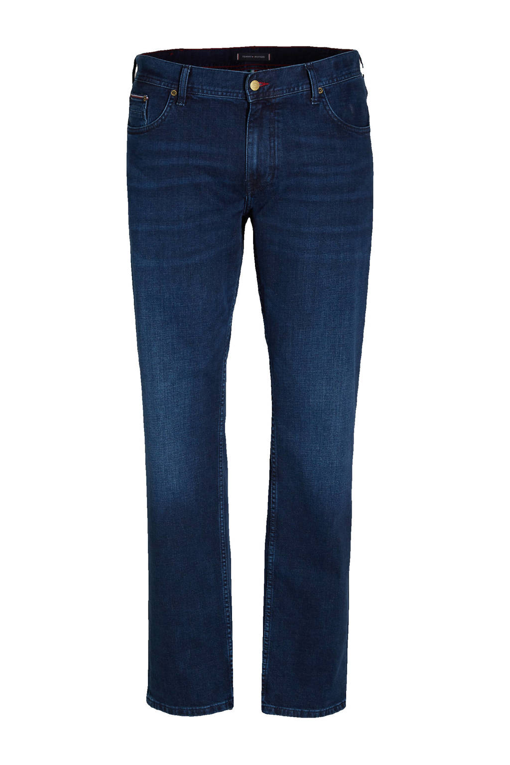 Tommy Hilfiger Big & Tall straight fit jeans Plus Size bridger indigo, Bridger Indigo