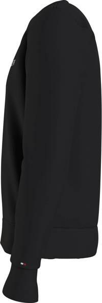 Tommy Hilfiger sweater met logo zwart, Zwart