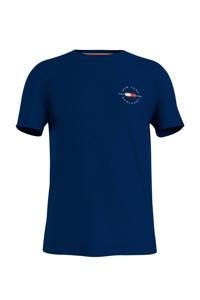 Tommy Hilfiger T-shirt van biologisch katoen marine, Marine