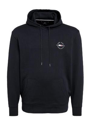 +size hoodie Plus Size van biologisch katoen zwart