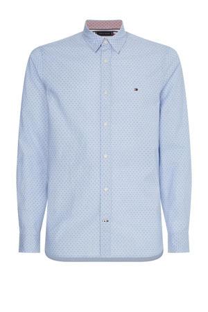 regular fit overhemd van biologisch katoen Plus Size lichtblauw