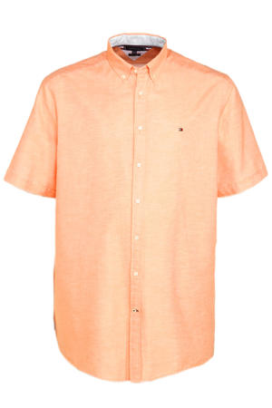 +size regular fit overhemd Plus Size summer sunset