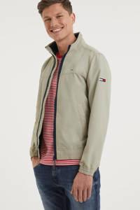 Tommy Jeans jack zomer met logo beige, Beige