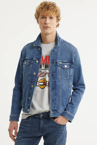Tommy Jeans spijkerjas 1a5 lincoln medium blue com, 1A5 Lincoln Medium blue Com