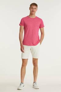 Tommy Jeans T-shirt Jaspe met biologisch katoen roze, Roze