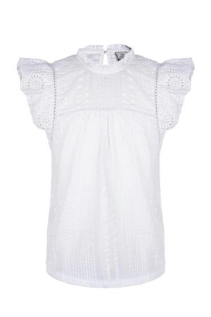 top met ruches off white