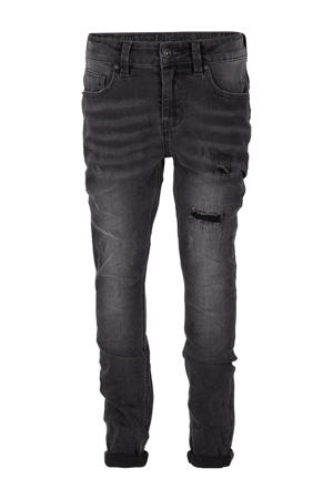 tapered fit jeans Jay black denim