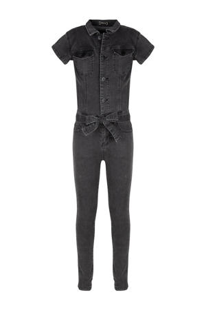 jumpsuit grey denim
