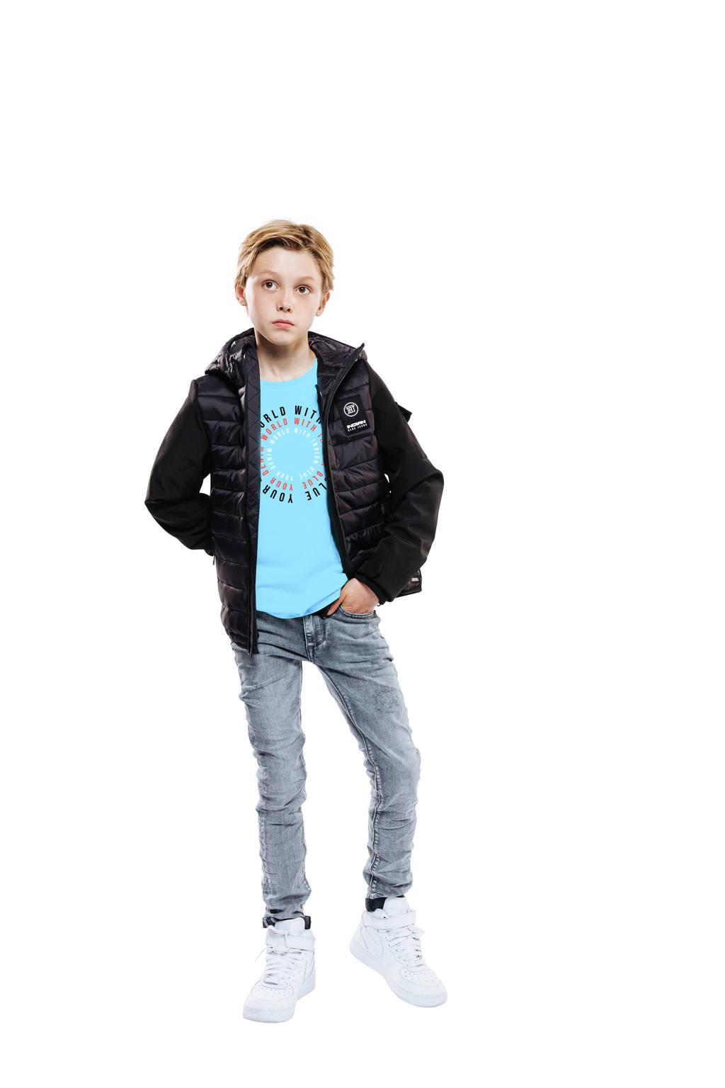 Indian Blue Jeans  zomerjas zwart, Zwart