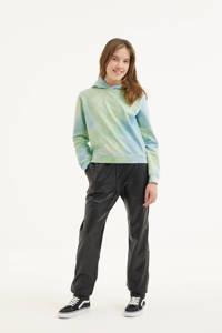 Indian Blue Jeans tie-dye hoodie mintgroen/lichtgroen, Mintgroen/lichtgroen