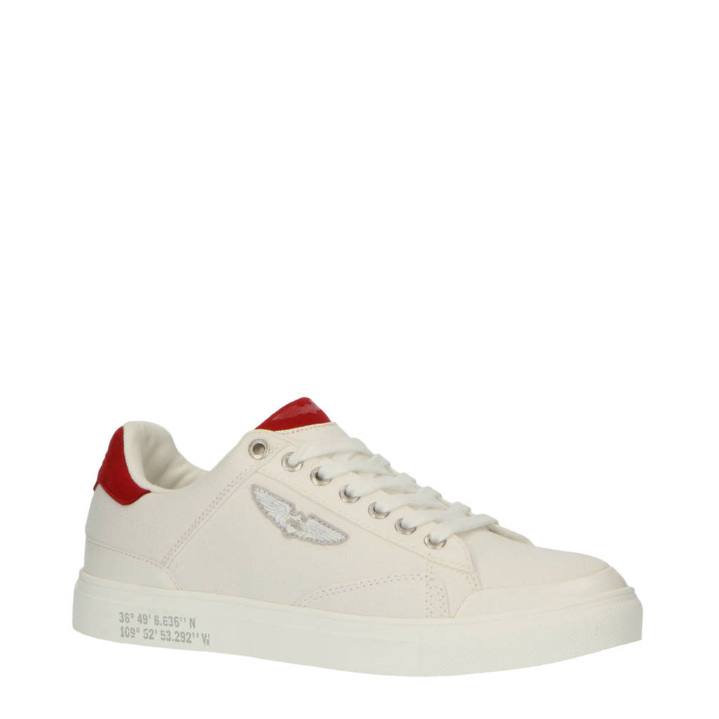 PME Legend Carior  sneakers wit/rood, Wit/rood