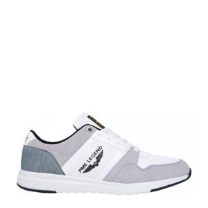 Dragger  suède sneakers wit/multi