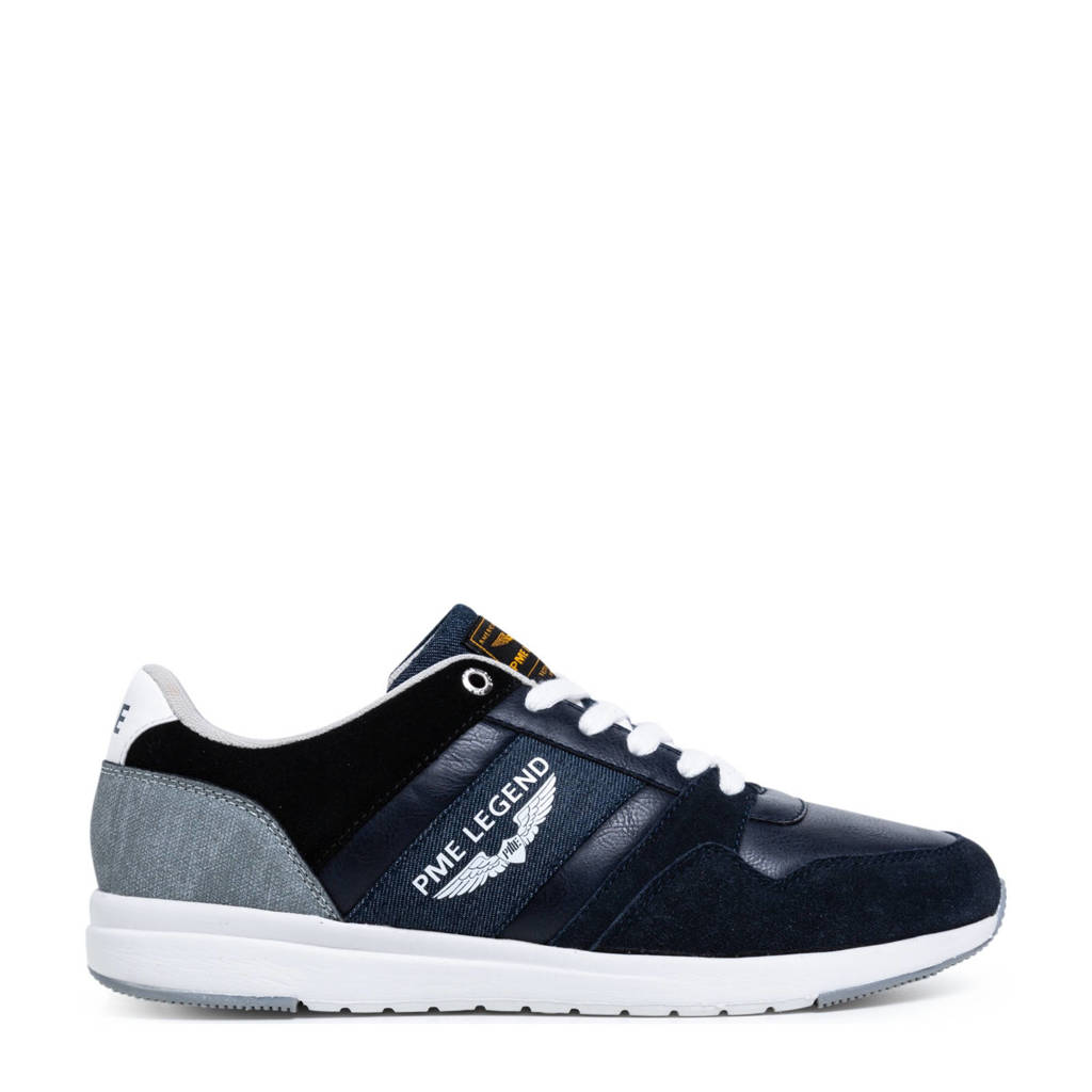 PME Legend Dragger  suède sneakers donkerblauw, Donkerblauw