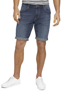 Tom Tailor regular fit jeans short dark stone wash, Dark stone wash
