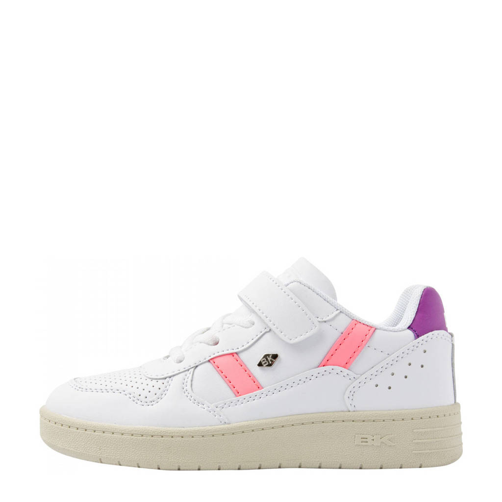 British Knights Raww  sneakers wit, Wit/paars/roze