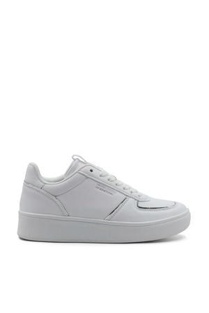 Hunt LTX  leren sneakers wit/zilver