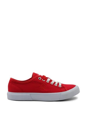 Band  sneakers rood