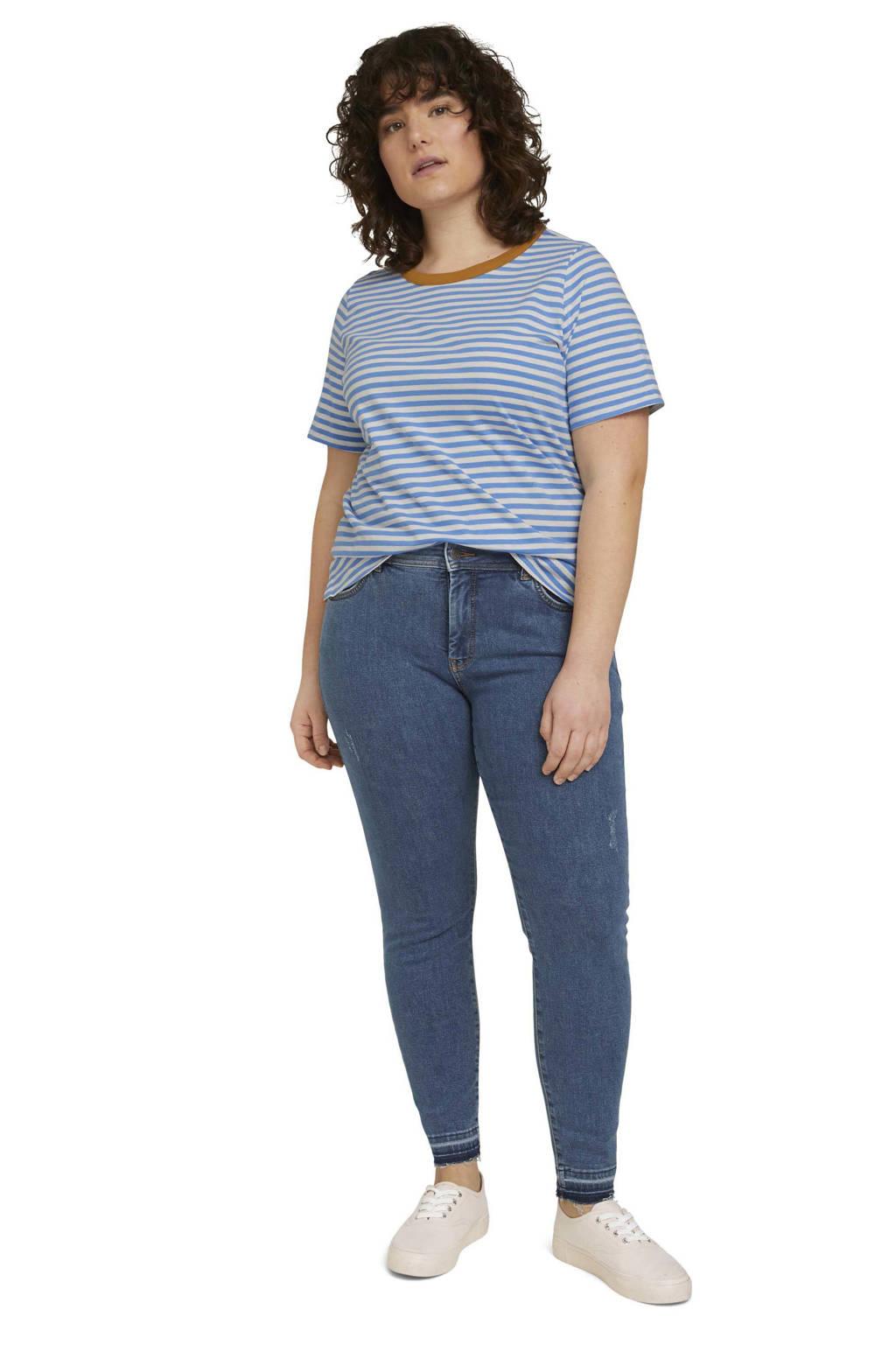 Tom Tailor My True Me skinny jeans blauw, Blauw