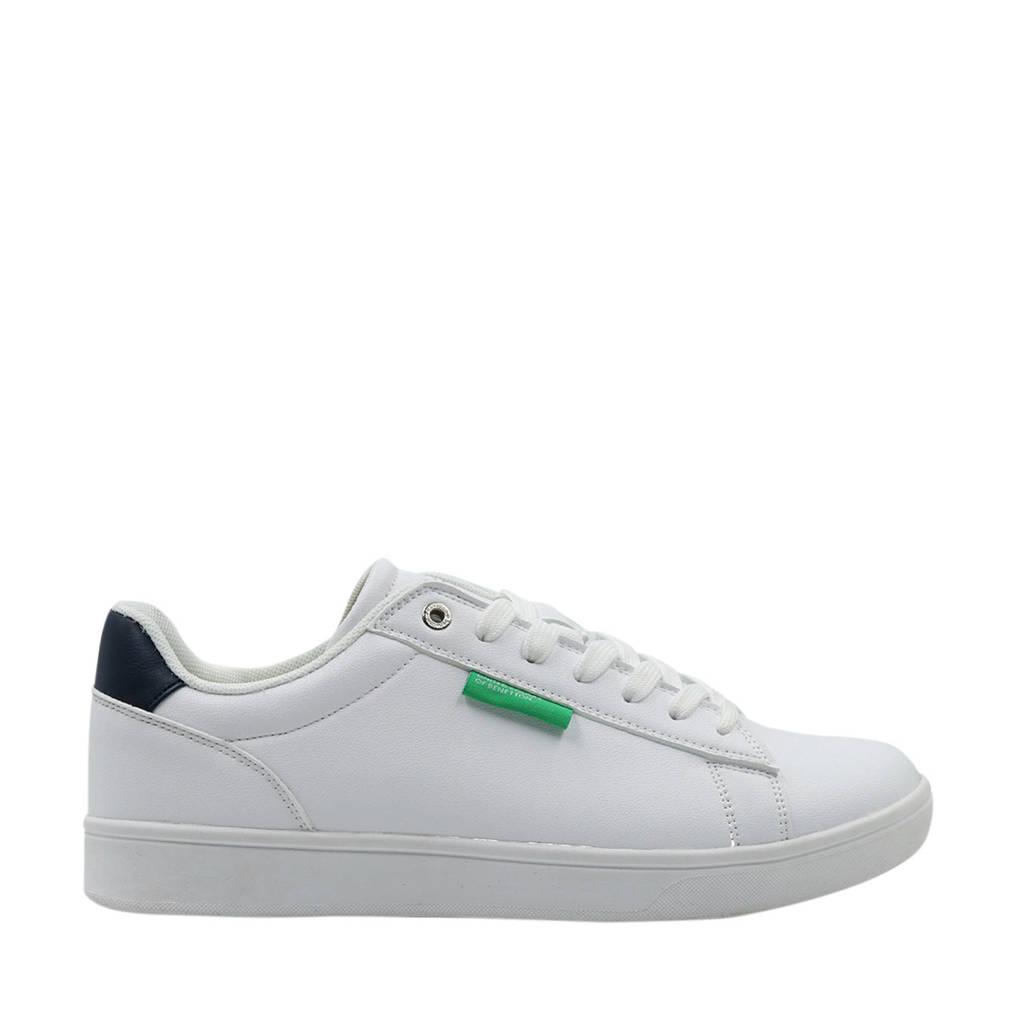 Benetton Label LTX  sneakers wit, Wit