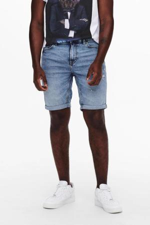 slim fit jeans short Ply blue denim