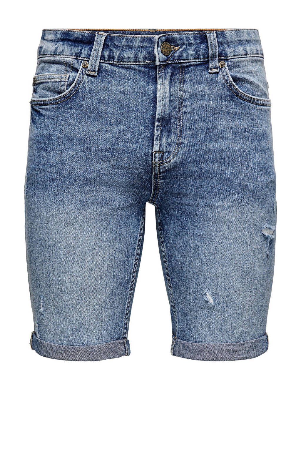 ONLY & SONS slim fit jeans short Ply blue denim, Blue denim