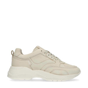 chunky nubuck sneakers beige