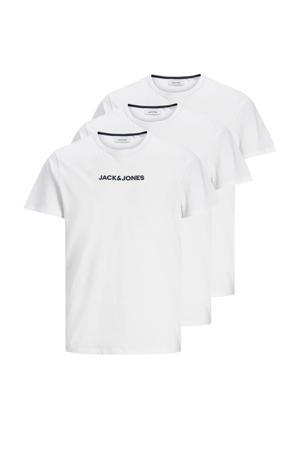 T-shirt Rain (set van 3) wit