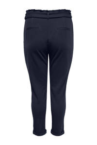 ONLY CARMAKOMA high waist slim fit broek night sky
