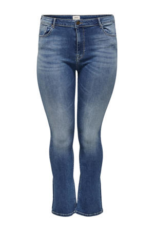 high waist flared jeans CARLAOLA dark denim