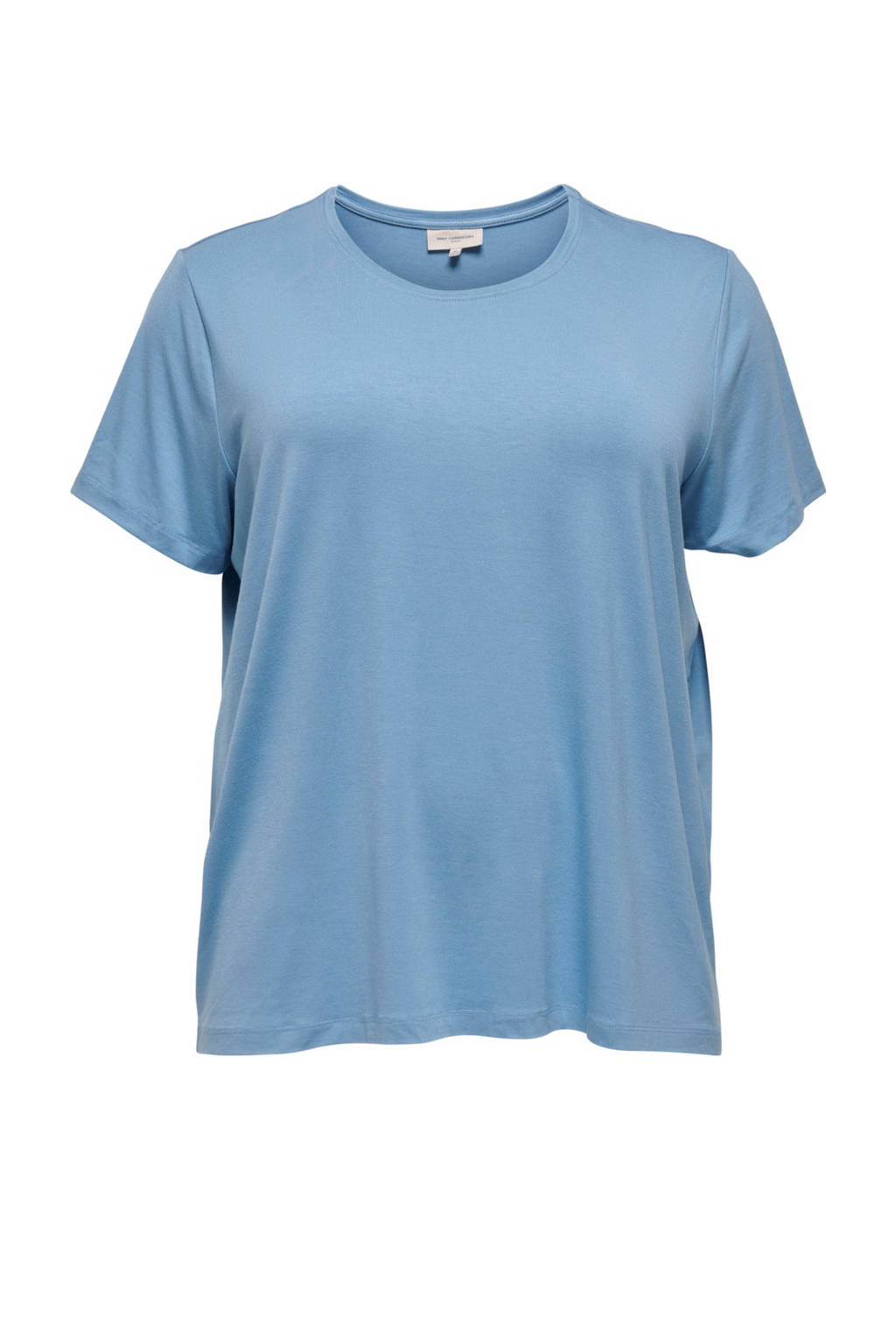 ONLY CARMAKOMA T-shirt lichtblauw, Lichtblauw